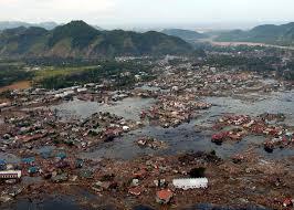 Asian earthquake and tsunami disaster