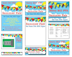 Pta Templates Summer Fair Published Pta Templates And Poster Kits Pta