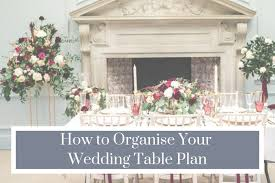 Plan Weddings How To Organise Your Wedding Table Plan Shaw House Weddings