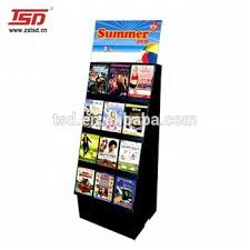 Dvd Display Stands Simple Floor Cardboard Dvd Display Stands Buy Cardboard Dvd Display