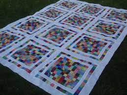 100-Patch Quilt Tutorial – Wedding Dress Blue & Finished ... Adamdwight.com