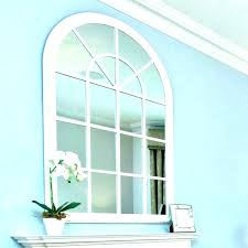 large arched mirror. Large Arched Mirror Wall With Panes Window Pane Inspiring I