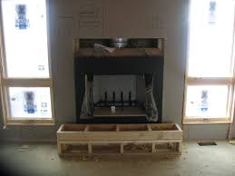gas fireplace installation how to build a house