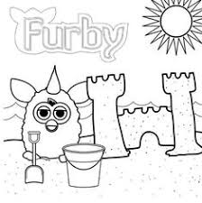 8 Best Furby Coloring Pages Images Coloring Pages Printable
