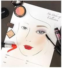 image is loading euneun art makeup artist sheet face chart for