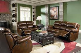 decorating ideas for living room with dark brown furniture best