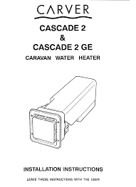 1 0 specifications Simple Cascade Diagram at Carver Cascade 2 Wiring Diagram