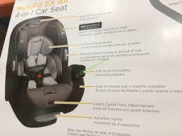 dorel juvebile group safety 1st multifit 4 in 1 car seat model cc204epic costcochaser