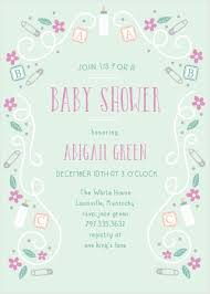 Diaper Shower Invitation Diaper Baby Shower Invitations Match Your Color Style Free