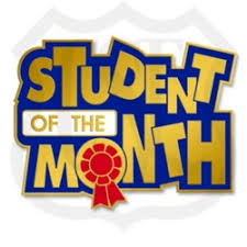 Image result for 8TH GRADER OF THE MONTH text