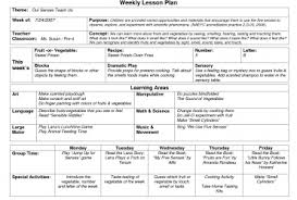 Daily Lesson Plan Template 12 Free Sample, Example, Examples Of ...