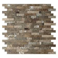 home depot groutless backsplash self adhesive tile tempting