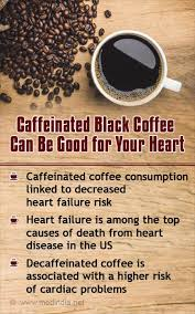 A doctor weighs in on if decaf is bad for you. Black Coffee May Help Reduce Heart Failure Risk