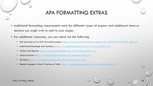 Apa Formatting Uhcl Writing Center Basics To Formatting Double