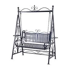 person outdoor metal garden swing black patio yard outsunny designs furniture pads chair replacement canopy aluminium sliding doors daybed porch french with