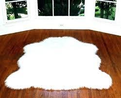 black fur carpet faux sheepskin rug fur rugs large grey fur carpet