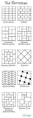 Tile Laying Patterns Layout Pattern Incredible Designs Ideas N Floor Tiles