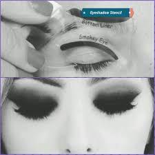 details about eyeshadow stencil