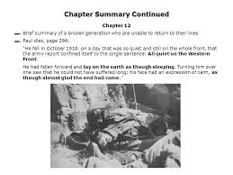 All Quiet On The Western Front Quotes Amazing All Quiet On The Western Front Erich Maria Remarque 48 Ppt