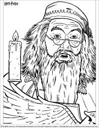 Small Picture 377 best Colorir Harry Potter images on Pinterest Adult coloring