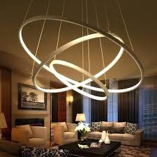 modern pendant lighting modern pendant lights for living room dining room 3 2 1 circle rings