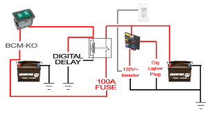 offroadtb com \u2022 view topic home made secondary battery setup inverter connection with battery at Battery And Inverter Wiring Diagram