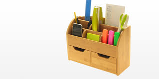wall mounted office. Desk Organiser, Bamboo For Office Wall Mounted