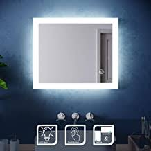 Bathroom LED Mirror - Amazon.co.uk