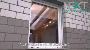 Farbige Schaltbare Folie Der Elektrische Sichtschutz Für Fenster