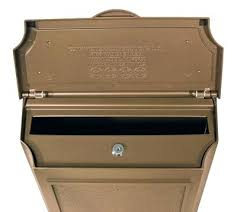 wall mount residential mailboxes. Wall Mounted Locking Mailbox Mount Residential Mailboxes