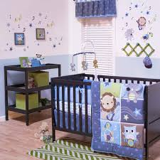 bedroom boys crib bedding lovely jungle jamboree 4 piece baby crib bedding set with