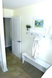 Coat Rack And Shelf Beauteous Wall Mounted Coat Rack With Shelf And Mirror Charming Entryway Coat