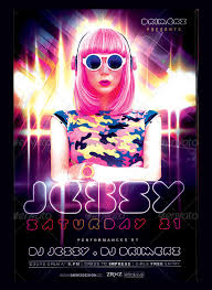 free flayers 25 best glow party flyer psd templates free premium designyep