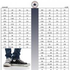 Converse Us Size Chart Beautiful Us Uk Clothing And Shoe Size Conversion Chart