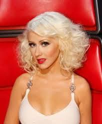 celebrity hairstyles christina aguilera s glam bob