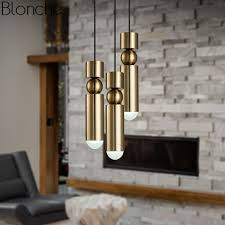 nordic pendant lights modern simple hanging lamp creative fixtures for home decor living room bedroom loft industrial luminaire