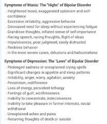 Bipolar Disorder Relationship Patterns