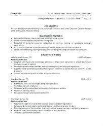 Restaurant Job Descriptions For Resume Restaurant Duties Resume