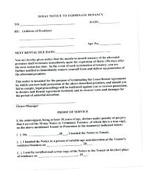 Rent Increase Form California 60 Day Notice Template Day Notice To Terminate Tenancy Letter Move