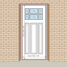 exterior door slab sizes. entry door slab size | how to measure your front door, replacement exterior doors sizes for builders