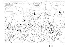 Weather Sa Synoptic Chart Summer Lows Sa Geography
