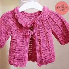Crochet Baby Sweater Pattern Beauteous Crochet Sweater Baby Easy To Crochet Baby Cardigan Video 48