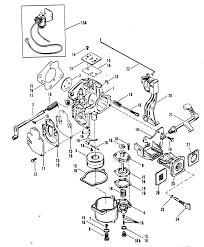Mercury mercury 25xd 9415101 thru 9507380 carburetor merc rh vansoutboardparts 1984 mercury 25xd parts 1984