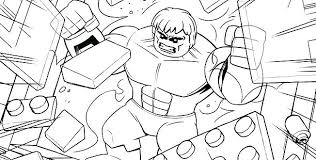 Coloring Pages Superheroes Superhero Lego Colouring Sheets