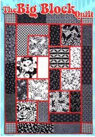 Quilt Pattern - Black Cat Creations - Big Block Quilt | Fat ... & Quilt Pattern - Black Cat Creations - Big Block Quilt Adamdwight.com