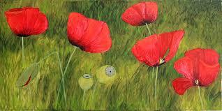 poppy painting poppy field by andrea meyer