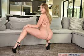 Harley Jade in sexy high heels poses for camera porn pics at My.