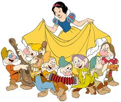 Image result for snow white and the seven dwarfs clipart