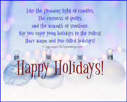 Holiday Greetings Quotes Stunning Happy Holiday Wishes Greetings And Messages 48greetings