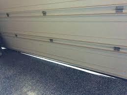installing garage door on uneven floor image of installing garage door weather seal installing garage door